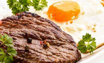 با رژیم غذایی گوشت و تخم مرغ سالم و مطمئن لاغر شوید