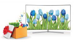 جشنواره عیدانه تلویزیونهای سامسونگ آغاز شد