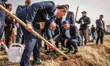 پروژه کاشت ۱۵هزار اصله نهال توسط ایرانسل آغاز شد