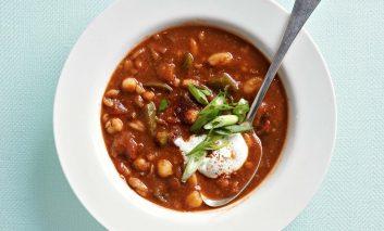 سوپ چیلی دودی درست کنید