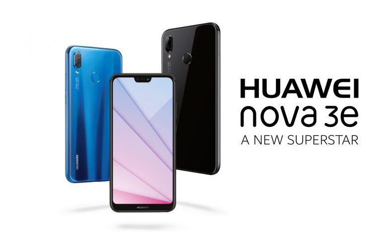 عرضه گوشی Huawei nova 3e با صفحه نمایش FullView 2.0