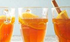 چای داغ پرتقال یک نوشیدنی دلچسب
