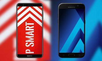 نبرد میانردههای چینی و کرهای: هوآوی P Smart در مقابل سامسونگ Galaxy J7 Pro و Galaxy J5 Pro