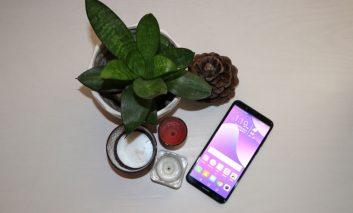 بررسی طراحی بدنه و نمایشگر تلفن هوشمند Huawei Y7 Prime 2018