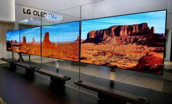 الجی با کلمه OLED آینده تلویزیون را خواهد نوشت