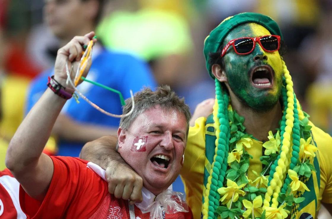 یک جام و یک جهان: برزیل – سوییس