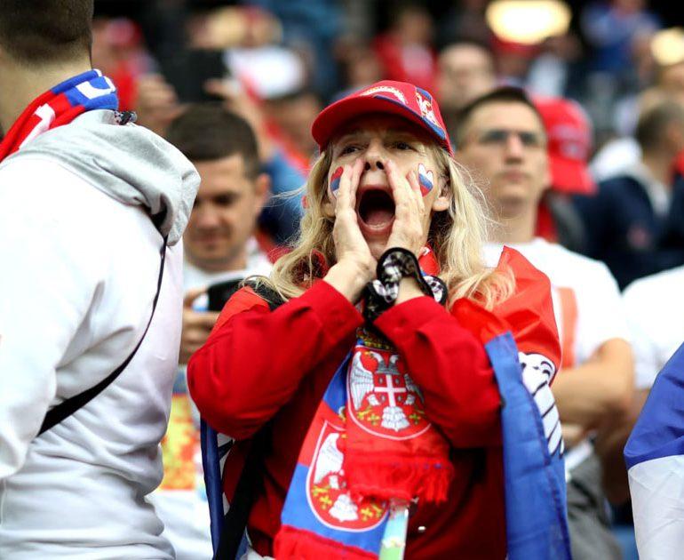 یک جام و یک جهان: صربستان – سوئیس