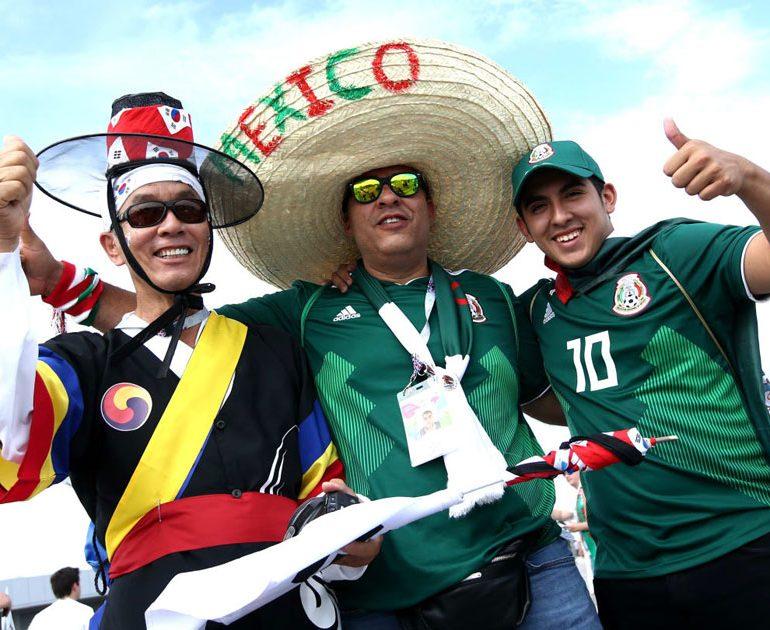 یک جام و یک جهان: کره جنوبی – مکزیک
