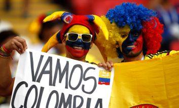یک جام و یک جهان: کلمبیا - لهستان