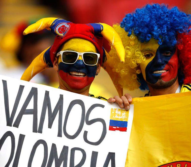 یک جام و یک جهان: کلمبیا – لهستان
