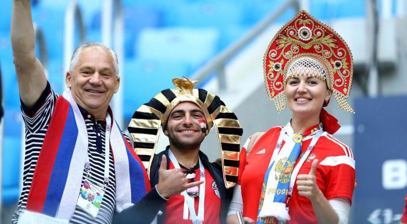 یک جام و یک جهان: مصر - روسیه