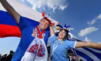 یک جام و یک جهان: روسیه - اروگوئه