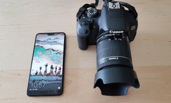 مقایسه دوربین گوشی Huawei P20 Pro با دوربین حرفهای Canon 700D