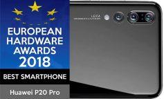 انجمن سختافزار اروپا: HUAWEI P20 Pro، بهترین گوشی هوشمند سال ۲۰۱۸
