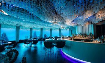 در تفریحگاه زیر آبی مالدیو شامتان را ۶ متر زیر آب بخورید!