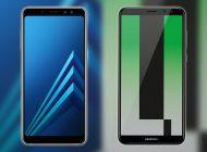 مقایسه فنی تلفنهای هوشمند هوآوی Mate 10 و سامسونگ +Galaxy A8