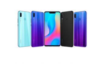 Huawei nova3، سری جدید گوشیهای هوآوی با سلفی ۲۴ مگاپیکسلی هوشمند