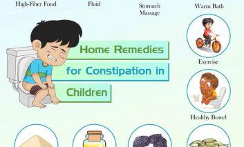 ۱۰ روش خانگی برای درمان یبوست بچهها