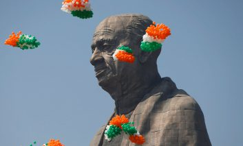 بزرگترین مجسمه دنیا در هند ساخته شد