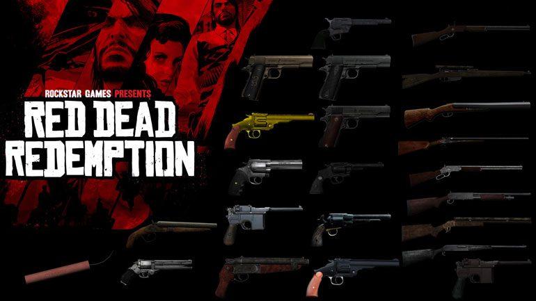 آشنایی با انواع اسحله در بازی وسترنی Red Dead Redemption 2