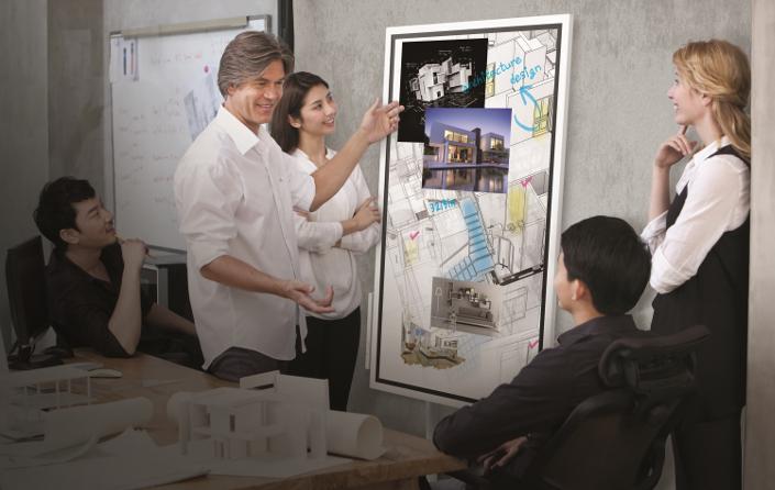 نمایشگر Flip سامسونگ، دستیار هوشمند جلسههای اداری
