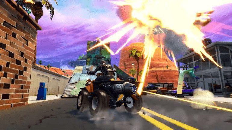 بازی Fortnite به نسخه ۶٫۱۰ آپدیت شد
