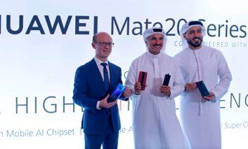 رونمایی از گوشی های Huawei mate 20 در خاورمیانه و آفریقا