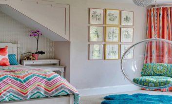 هشت ایده ساده و خلاقانه برای تزیین اتاق خواب دخترانه
