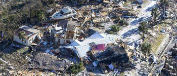 گزارش تصویری: توفان مایکل و آوارهایی که بر جای گذاشت