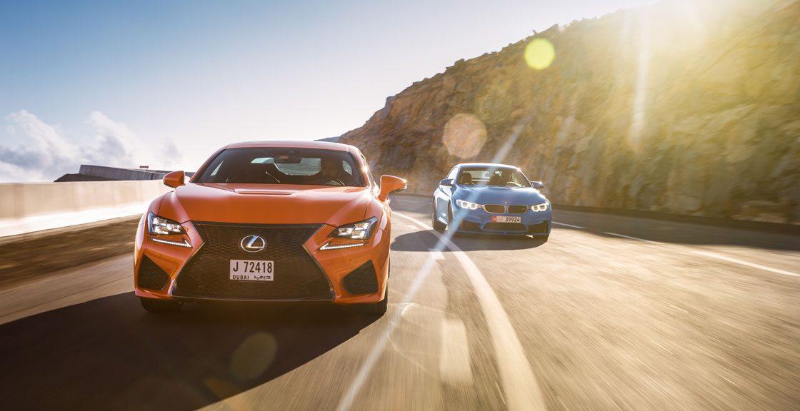 نبرد برندها: لکسوس در برابر BMW!