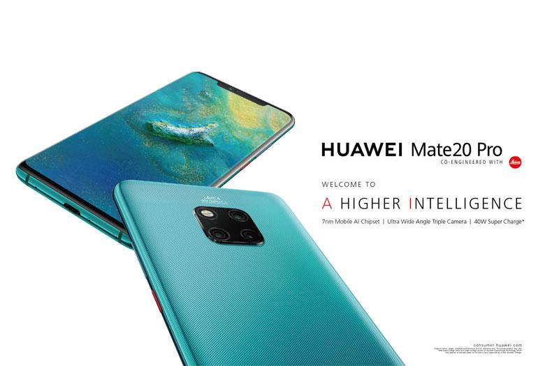 صرفه جویی در زمان گران بهای شما با گوشی HUAWEI Mate 20 Pro