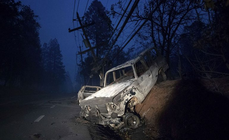 A-Wind-Whipped-Wildfire-Ravages-Paradise,-California-(9)
