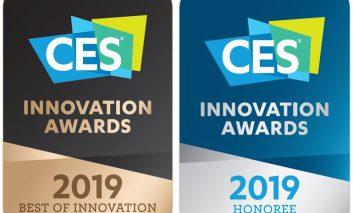 الجی مفتخر به دریافت جوایز نوآوری در نمایشگاه CES 2019 شد
