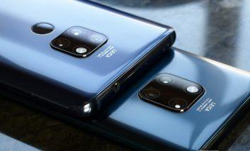 آینده میتواند شبیه  گوشی Huawei Mate 20 pro باشد