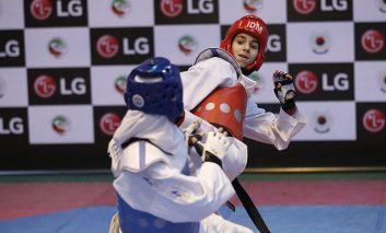 مسابقات تکواندو قهرمانی کشور، جام سفیر با حمایت ویژه شرکت ال جی رسما افتتاح شد