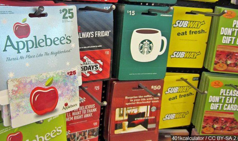 کارتهای هدیه چقدر امن هستند؟