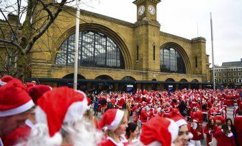 گزارش تصویری: فصل کریسمس ۲۰۱۸ در سراسر دنیا