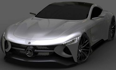 مدل کانسپت SLR Vision: نگاه حیرت انگیز کمپانی مرسدس بنز به آینده!