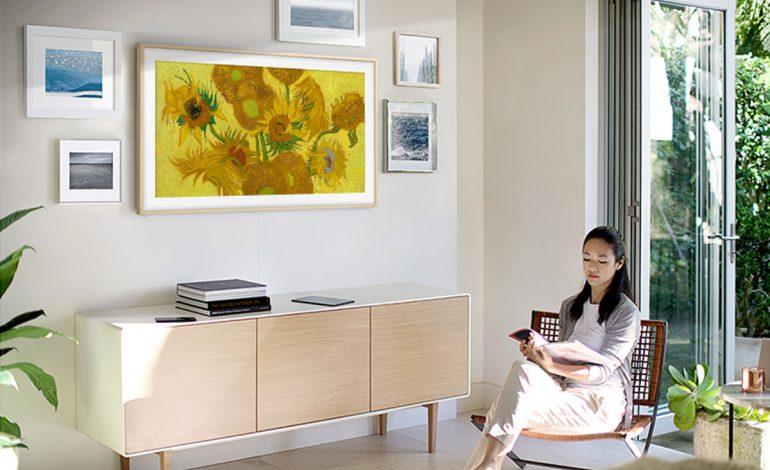 تلویزیون فریم سامسونگ قاب برترین آثار هنری جهان شد