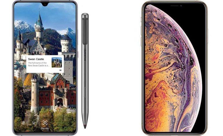 مقایسه عمر باتری و سرعت شارژ Huawei Mate 20 X و آیفون XS MAX