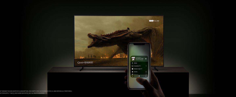 ورود آیتیونز و ایرپلی به تلویزیونهای هوشمند سامسونگ