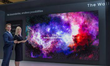 سامسونگ از فناوری آینده نمایشگرهای Micro LED رونمایی کرد