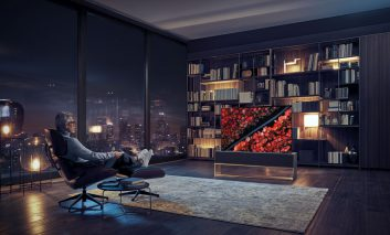 الجی؛ طلایهدار تلویزیونهای فردا با معرفی اولین تلویزیون OLED لولهشونده