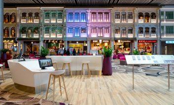 نگاهی سریع به داخل بهترین فرودگاه دنیا، چانگی سنگاپور