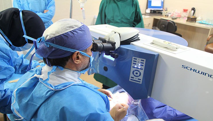 تخصصی ترین مرکز چشم پزشکی خصوصی در ایران