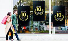 سامسونگ برای دهمین سال متوالی برترین برند نمایشگرهای Signage شد