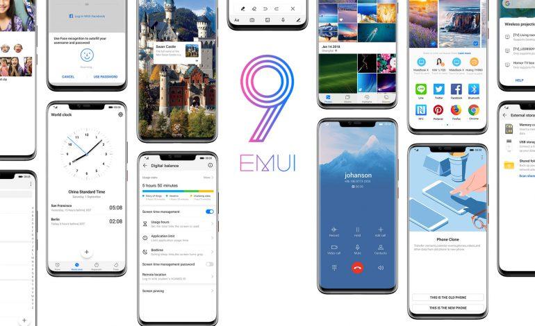 به روزرسانی جدیدترین نسخه EMUI برای هشت گوشی قدیمی هوآوی