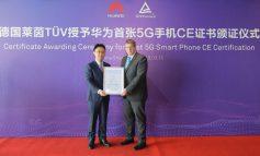 اعطای نخستین گواهی نامه ۵G CE توسط شرکت آلمانی TÜV Rheinland برای گوشی هوشمند HUAWEI Mate X