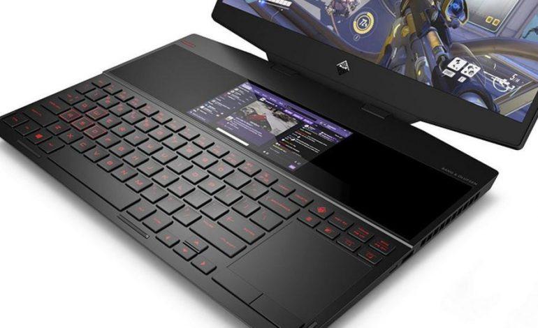 لپتاپ جدید HP دو صفحه نمایش دارد
