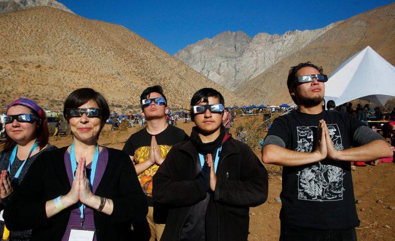 تنها خورشیدگرفتگی کامل سال ۲۰۱۹ رخ داد